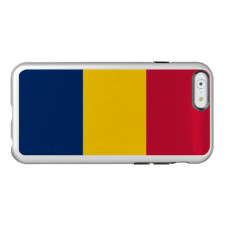 Flagge Tschad silbernen iPhone Falles Incipio Feather® Shine iPhone 6 Hülle