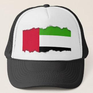 Flagge UAE Arabische Emirate Truckerkappe