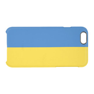 Flagge Ukraine klaren iPhone Falles Durchsichtige iPhone 6/6S Hülle