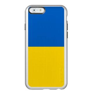 Flagge Ukraine silbernen iPhone Falles Incipio Feather® Shine iPhone 6 Hülle