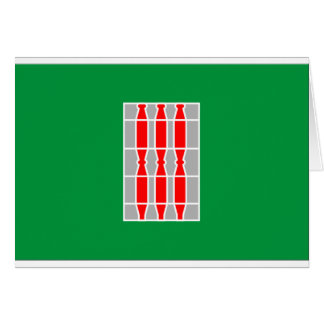 Flagge Umbriens (Italien) Karte