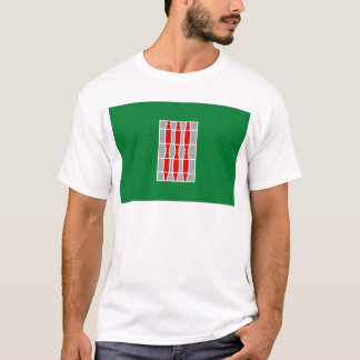 Flagge Umbriens (Italien) T-Shirt