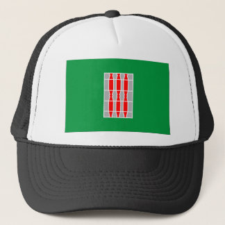 Flagge Umbriens (Italien) Truckerkappe