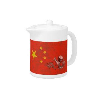 Flagge und Symbole der China ID158
