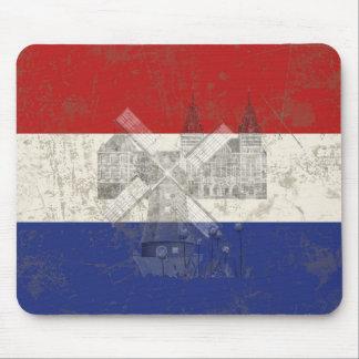 Flagge und Symbole der Niederlande ID151 Mousepads
