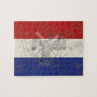 Flagge und Symbole der Niederlande ID151 Puzzle