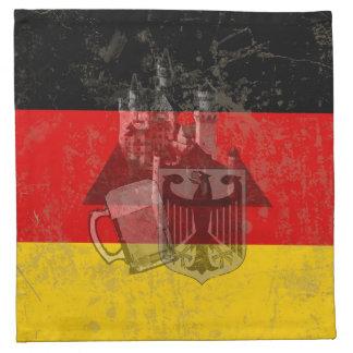 Flagge und Symbole von Deutschland ID152 Stoffserviette