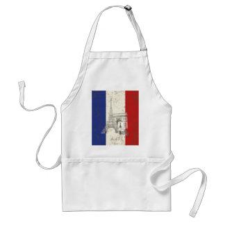 Flagge und Symbole von Frankreich ID156 Schürze