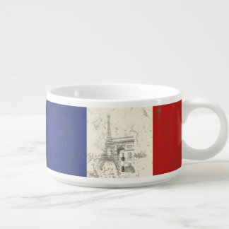 Flagge und Symbole von Frankreich ID156 Schüssel