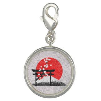 Flagge und Symbole von Japan ID153 Charms