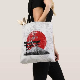 Flagge und Symbole von Japan ID153 Tasche