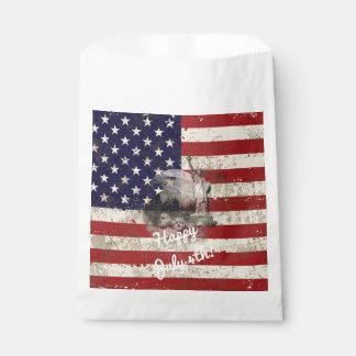Flagge und Symbole von Vereinigten Staaten ID155 Geschenktütchen