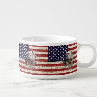 Flagge und Symbole von Vereinigten Staaten ID155 Schüssel