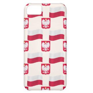 Flagge und Wappen Polen iPhone 5C Hülle