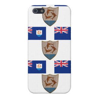 Flagge und Wappen von Anguilla iPhone 5 Hülle