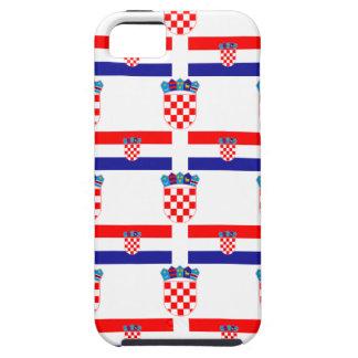 Flagge und Wappen von Kroatien Etui Fürs iPhone 5