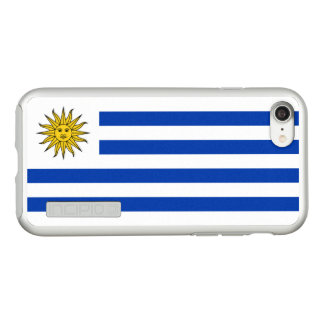 Flagge Uruguay silbernen iPhone Falles