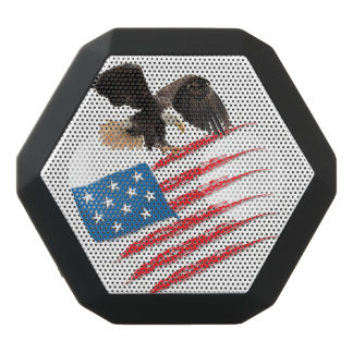 Flagge US Amerika Schwarze Bluetooth Lautsprecher