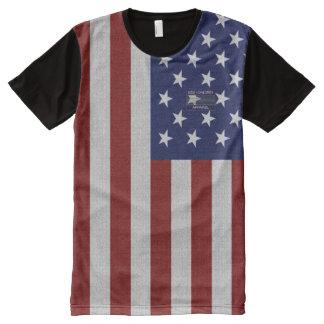Flagge USA Amerikas scherzt KinderkleiderT - Shirt