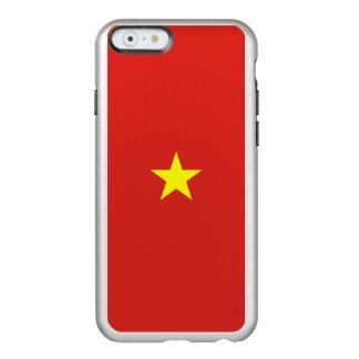 Flagge Vietnam silbernen iPhone Falles Incipio Feather® Shine iPhone 6 Hülle