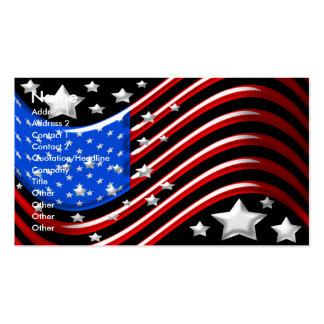 Flagge-Visitenkarte Visitenkarten