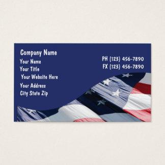 Flagge-Visitenkarten Visitenkarten