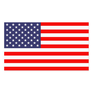 Flagge-Visitenkarteschablone Visitenkarten