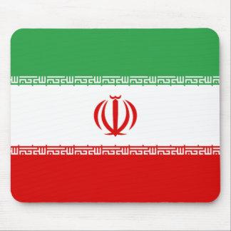 Flagge vom Iran Mauspads