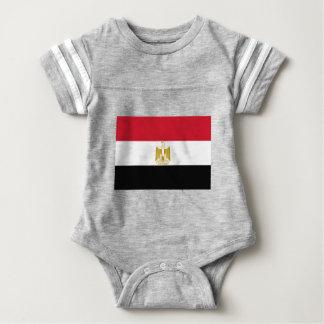 Flagge von Ägypten - علممصر - ägyptische Flagge Baby Strampler