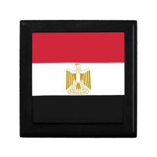 Flagge von Ägypten Erinnerungskiste