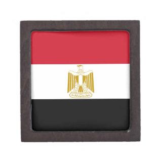 Flagge von Ägypten Kiste