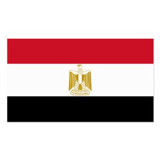Flagge von Ägypten-Visitenkarten Visitenkarten