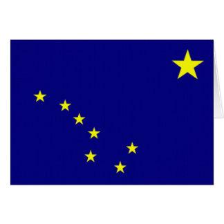 Flagge von Alaska Karte