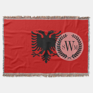 Flagge von Albanien Decke