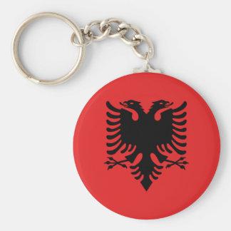 Flagge von Albanien - Flamuri I Shqipërisë Schlüsselanhänger