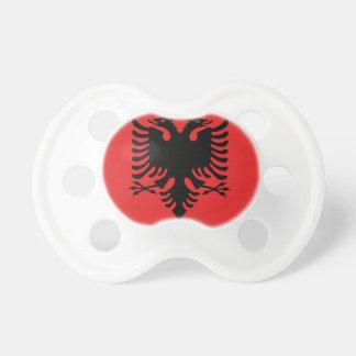 Flagge von Albanien - Flamuri I Shqipërisë Schnuller