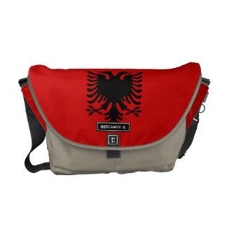 Flagge von Albanien Kuriertasche