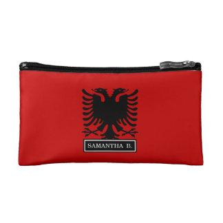 Flagge von Albanien Makeup-Tasche