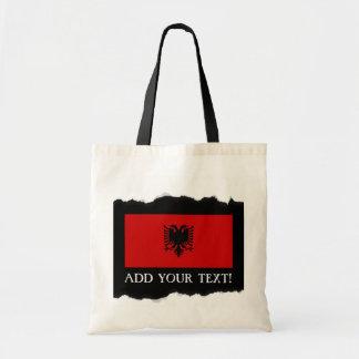 Flagge von Albanien Tragetasche