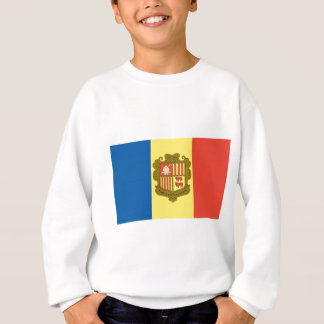 Flagge von Andorra Sweatshirt