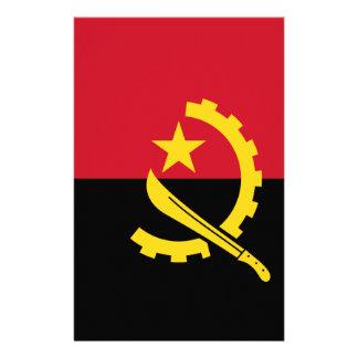Flagge von Angola- - Bandeirade Angola Briefpapier