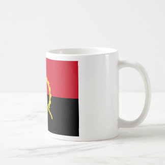 Flagge von Angola- - Bandeirade Angola Kaffeetasse