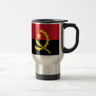 Flagge von Angola- - Bandeirade Angola Reisebecher