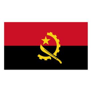 Flagge von Angola-Visitenkarten Visitenkarten