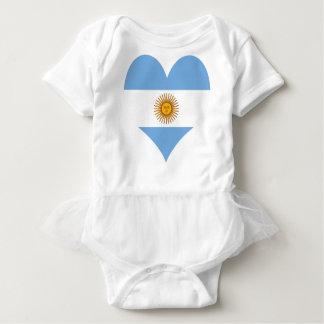 Flagge von Argentinien Baby Strampler