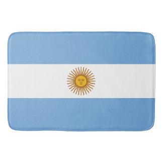 Flagge von Argentinien Badematte
