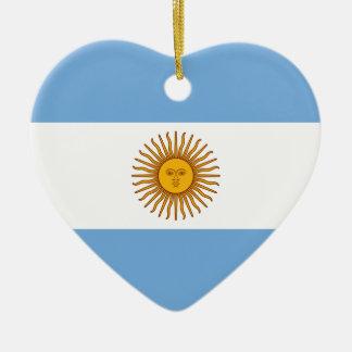 Flagge von Argentinien Keramik Ornament