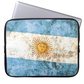 Flagge von Argentinien Laptop Computer Schutzhülle