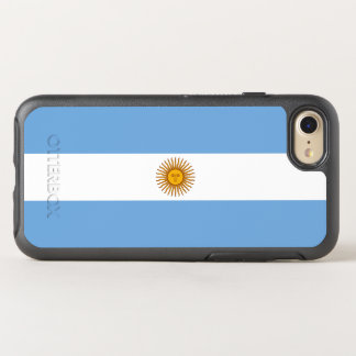 Flagge von Argentinien OtterBox iPhone Fall OtterBox Symmetry iPhone 8/7 Hülle