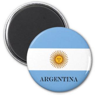 Flagge von Argentinien Runder Magnet 5,1 Cm